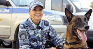 Назван лучший полицейский кинолог России