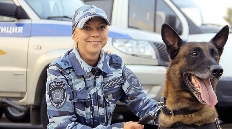 Лучший полицейский кинолог Юлия Тараско