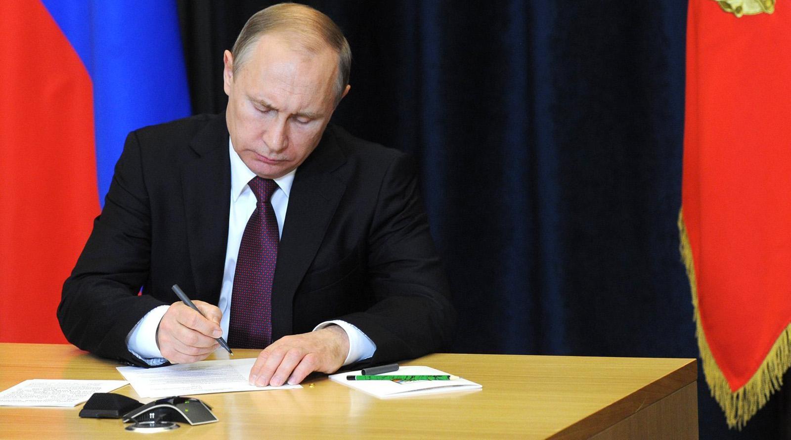Путин подписал Закон о защите животных