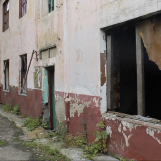 Приморье. Разрушенный дом